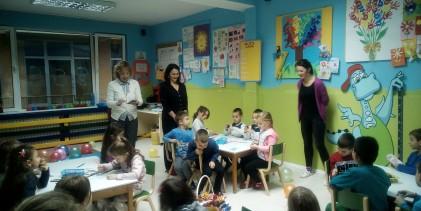 """Međunarodni dan dječijih prava: Vrtić """"Čika Jova Zmaj"""" posjetila Ombudsma za djecu RS"""