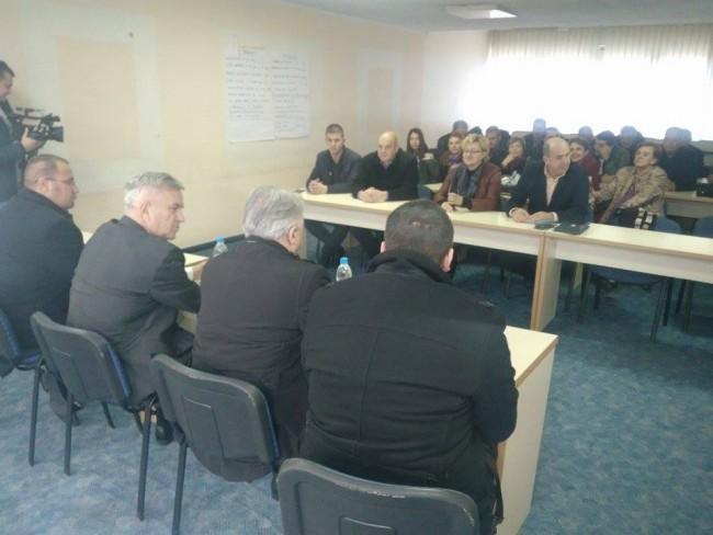 Sastanak fočanskog DNS-a sa Čubrilovićem