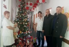 Fočanska NLB banka obradovala mališane na Odjeljenju pedijatrije