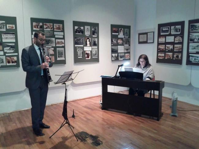 Neobični duet, klavir i klarinet, oduševio publiku u Foči