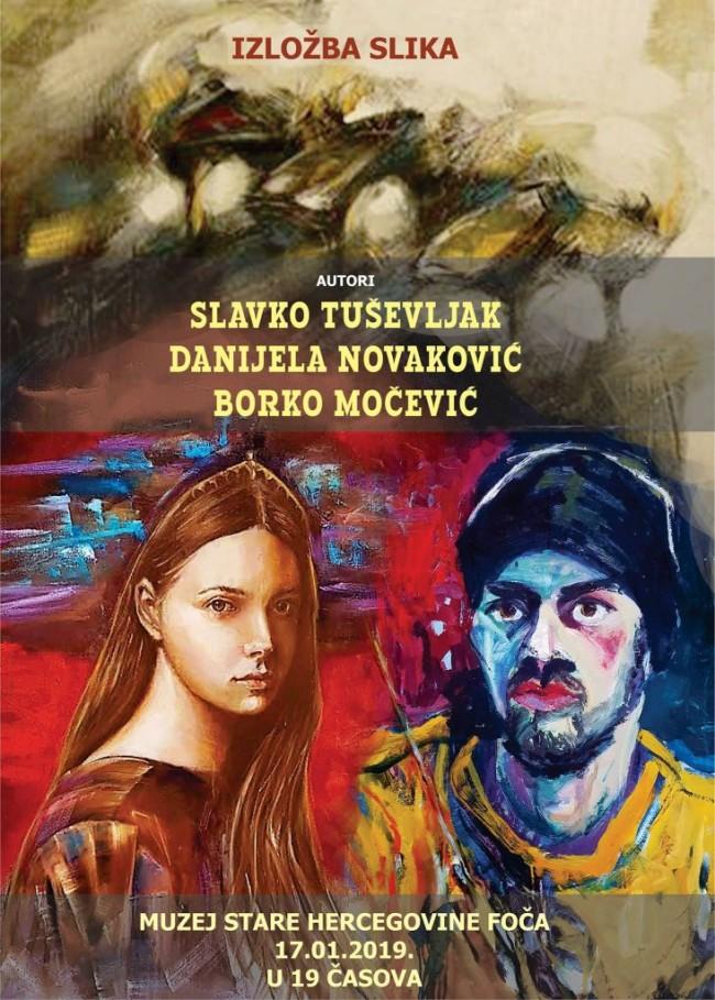 Slikari iz Višegrada, Rogatice i Istočnog Sarajeva izlažu u Foči