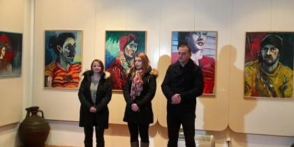 Djela tri slikara u fočanskoj galeriji