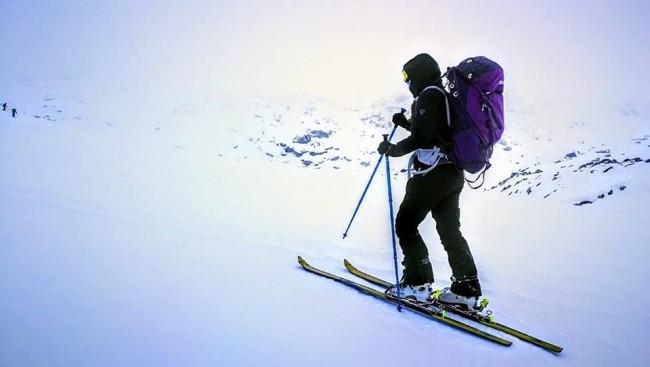 Jelena pripreme ranac skije