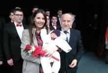Svetosavska akademija- zlatnik za prvorođenu bebu