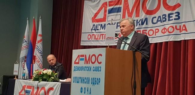 Izabran fočanski odbor Demosa, Stojanović predsjednik