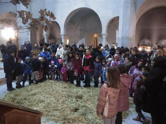 Djeca pijukanjem najavila radost Božića