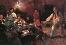 Prvo božićno pijukanje u Hramu Svetog Save