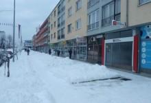 Rigorozne kazne za nečišćenje snijega