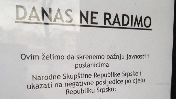 Vlasnici kladionica u znak protesta danas zatvorili poslovnice