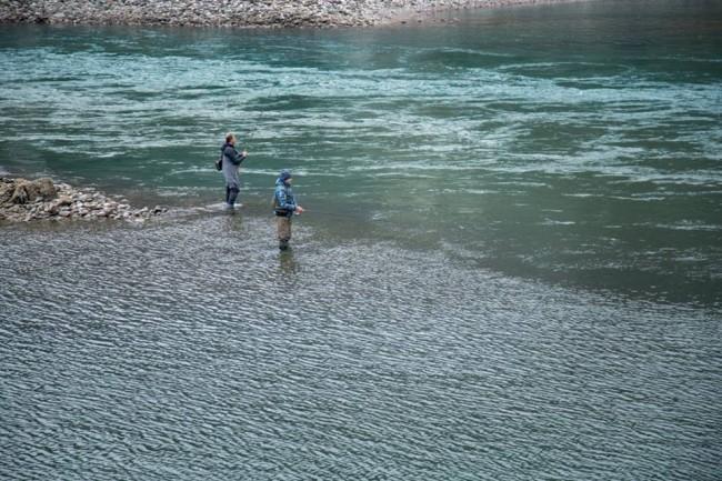 ribolov na rijeci Drini u Foci