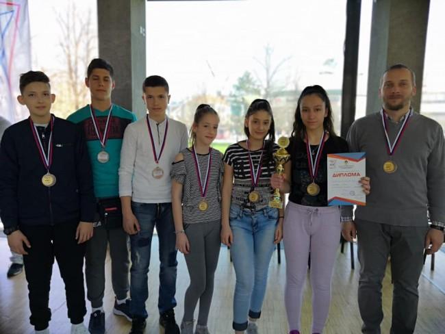Šahisti Gornje škole treći u Srpskoj