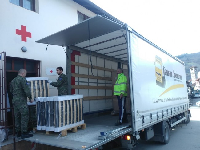 Iz Slovačke stigla pomoć za Crveni krst Foča vrijedna 18.000 evra
