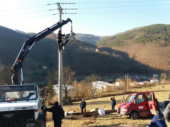 Naselja uz Ćehotinu danas i sutra bez struje