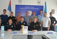 Fočanski policajci najbolji u malom fudbalu na Policijadi