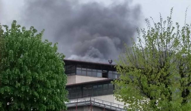 Gorjela Robna kuća- požar brzo ugašen