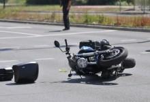 Motociklista polomio natkoljenicu