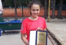 Fočanka Lana Miletić najbolja teniserka Srpske