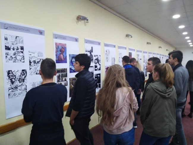 Strip izložba i škola privukle veliki broj Fočaka
