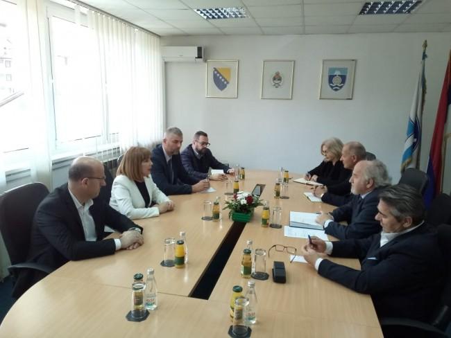 Potpredsjednici FBiH i Srpske u Foči: Pomoći u rješavanju infrastrukturnih problema