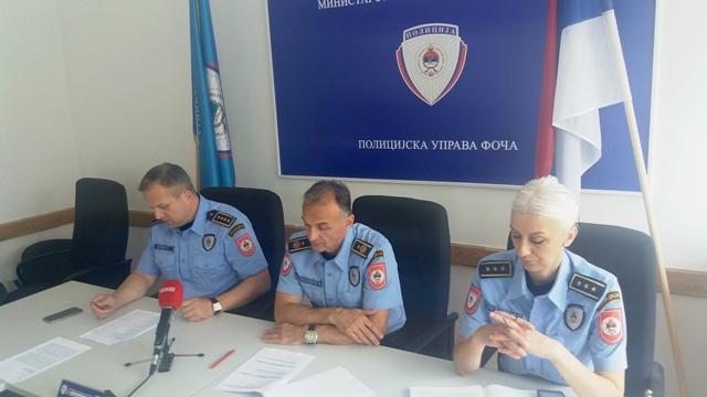 PU Foča: Pojačana kontrola saobraćaja tokom ljetne turističke sezone