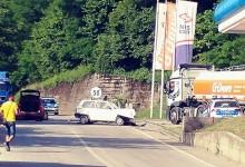 Dva lica povrijeđena u saobraćajnoj nezgodi na magistralnom putu Foča-Sarajevo