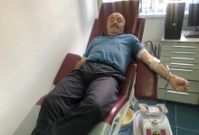 Pripadnici Policije u akciji darivanja krvi: Ljubomir Todović 68 puta darivao dragocjenu tečnost