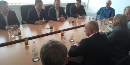 Predstavnici kineskog AVIK-a obišli lokalitet Buk Bijelu