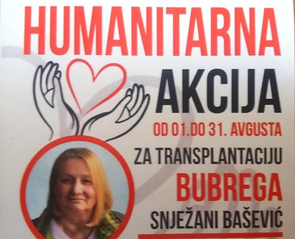 Humanitarki Snježani Bašević potrebna pomoć za transplataciju bubrega