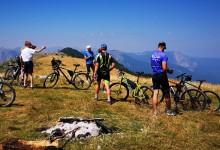 U vožnji obodom Perućice do Prijevora učestvovalo 17 biciklista