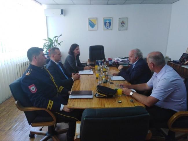 Lukač i Mašić dogovorili otvaranje Odjeljenja policije na Čelebićima
