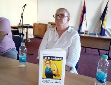 Predstavljen Vlajkijev roman o vladavini žena